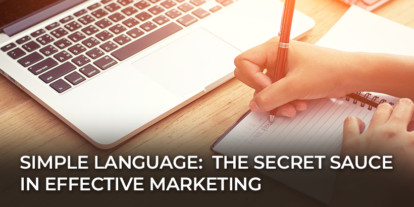 How to use Simple Marketing Language to improve conversions